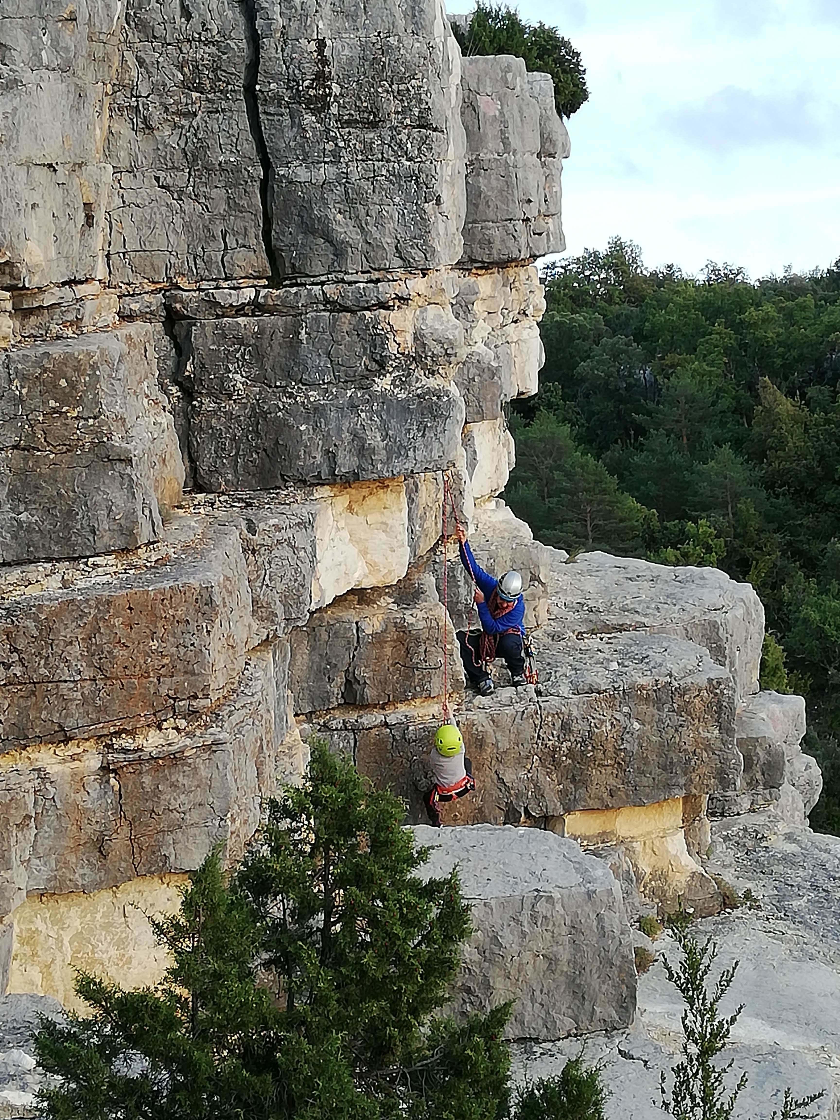 Photo Le Vallon d'Estay - site d'escalade