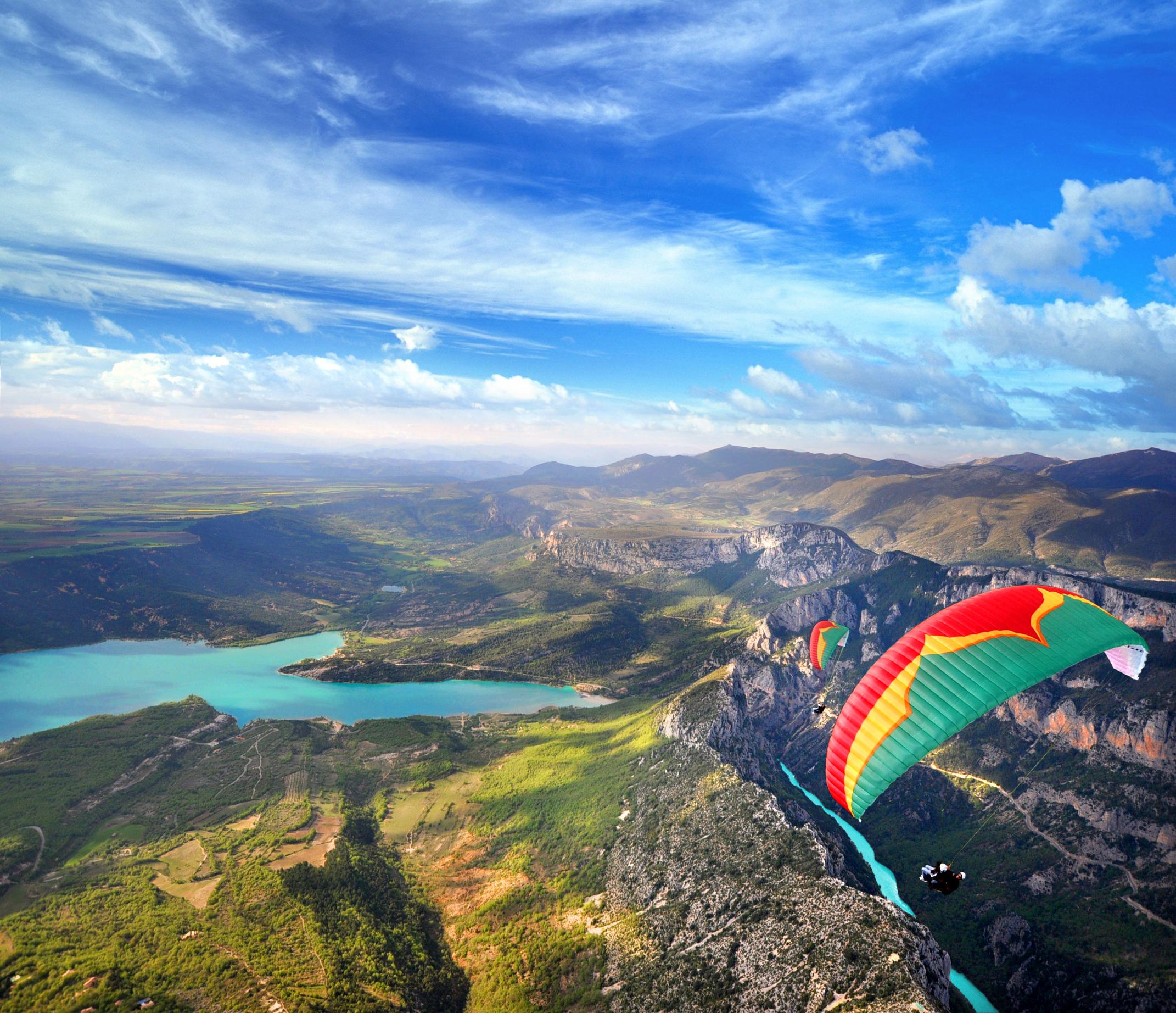Photo Journée découverte - Formation pilote parapente