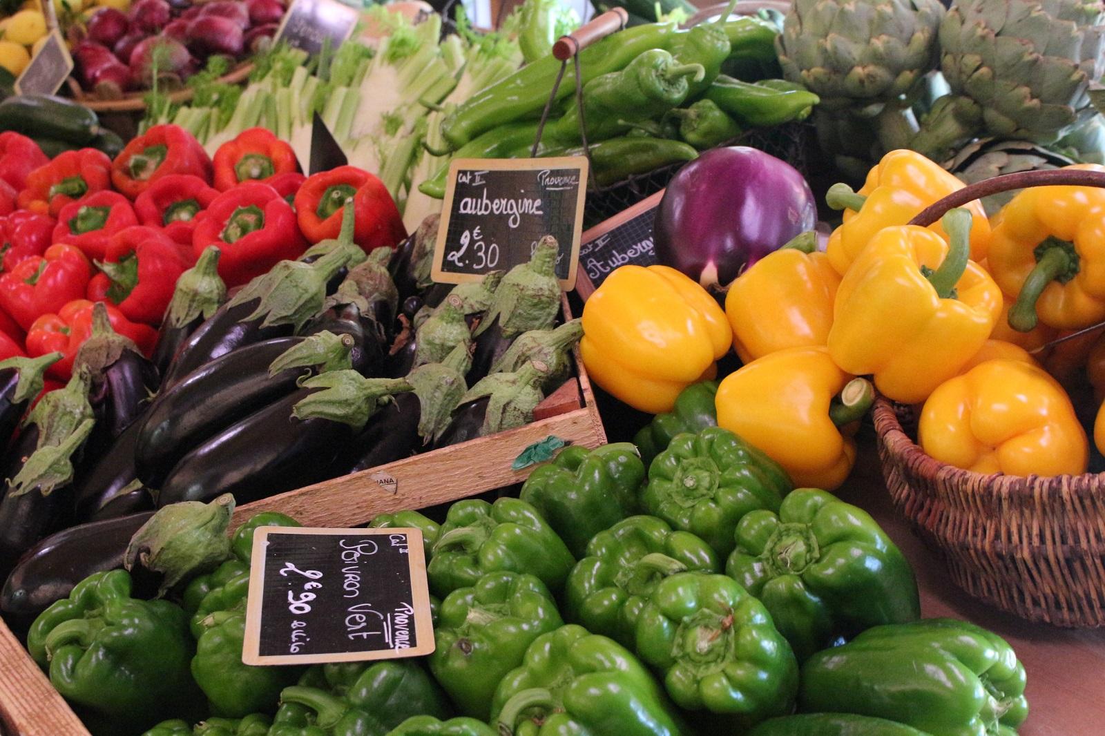 Photo Fruits et légumes du Logis du Pin