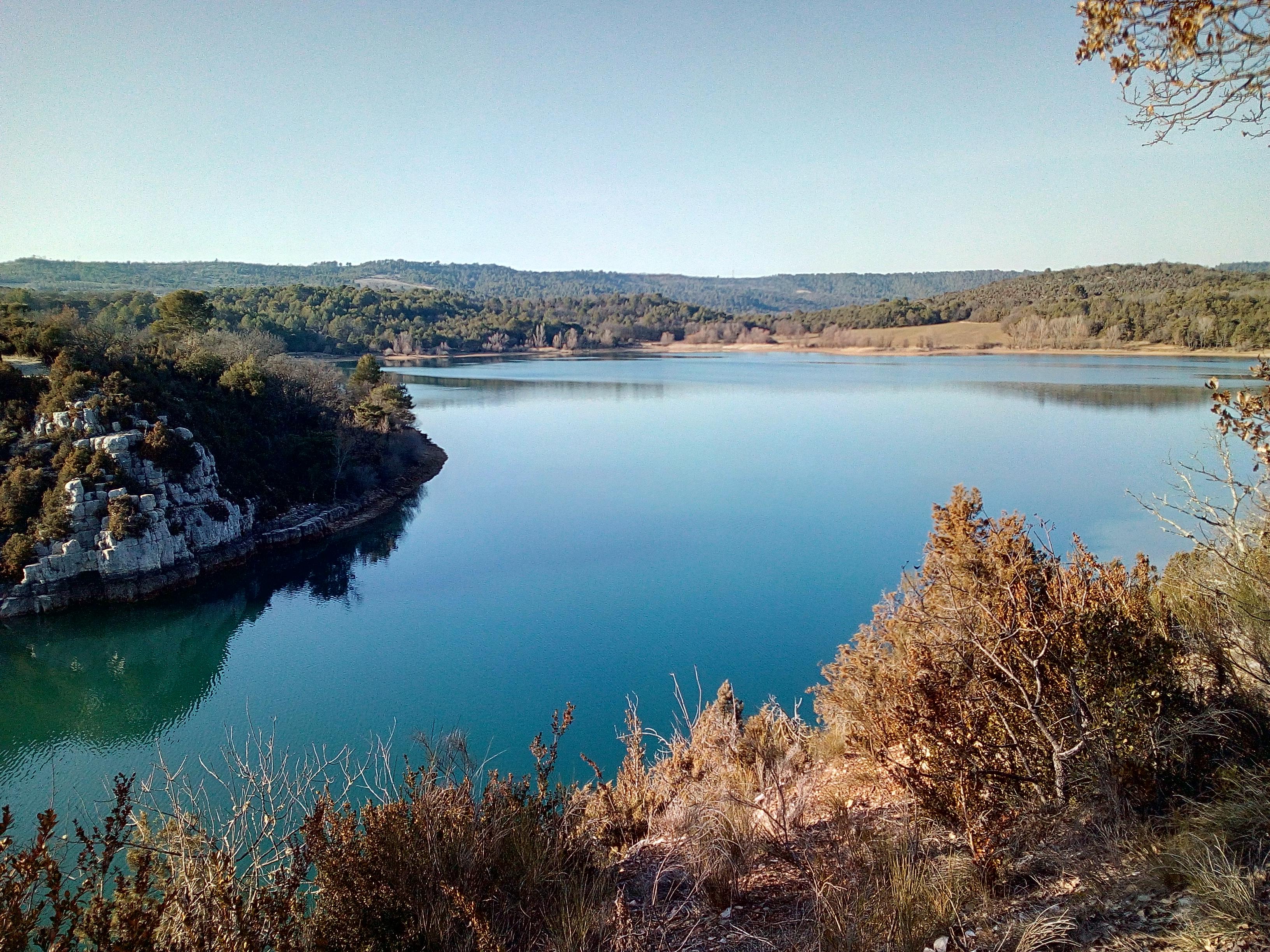Photo Lac d'Artignosc et ses plages ombragées