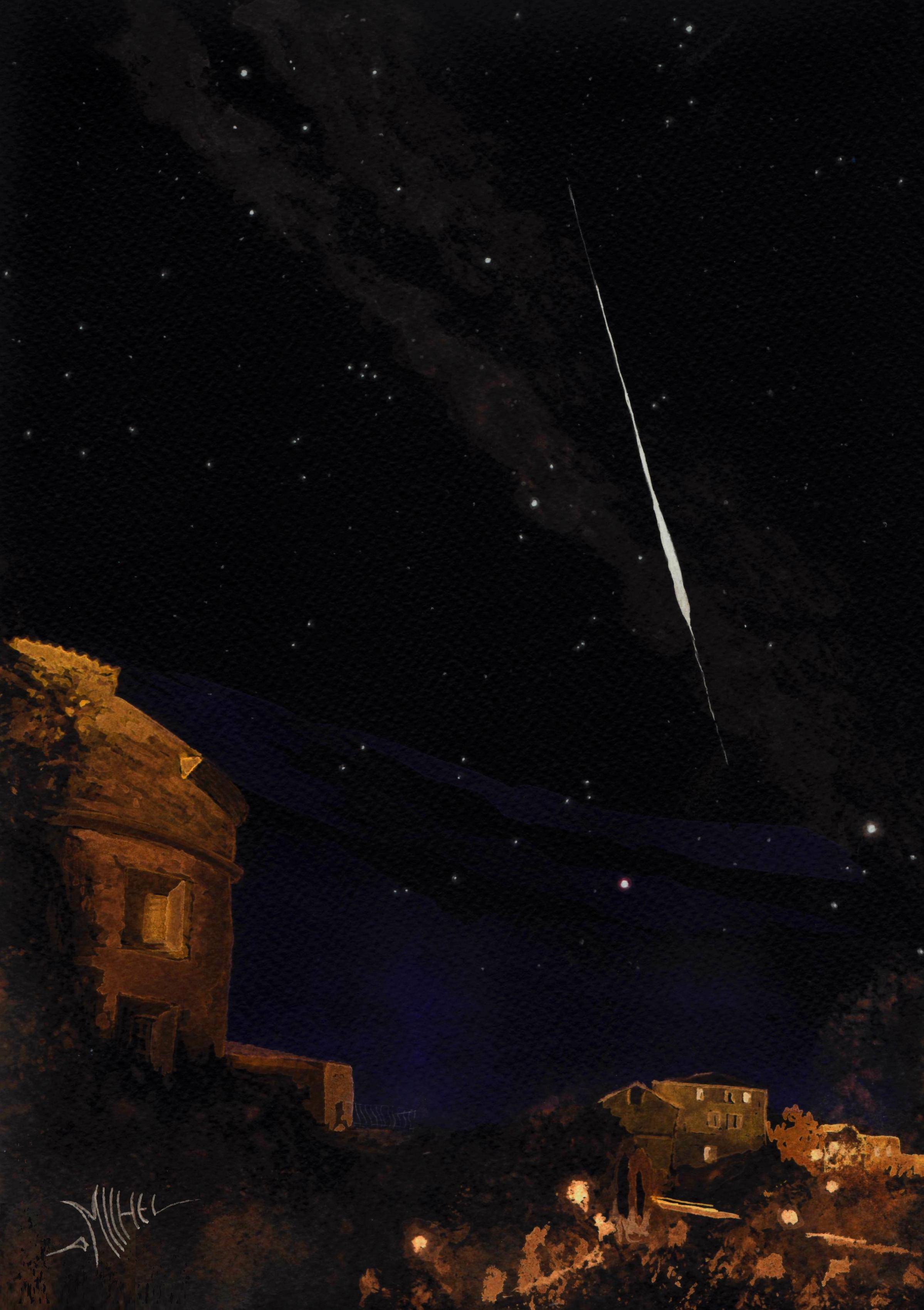 Photo Stage ou expérience Astronomie
