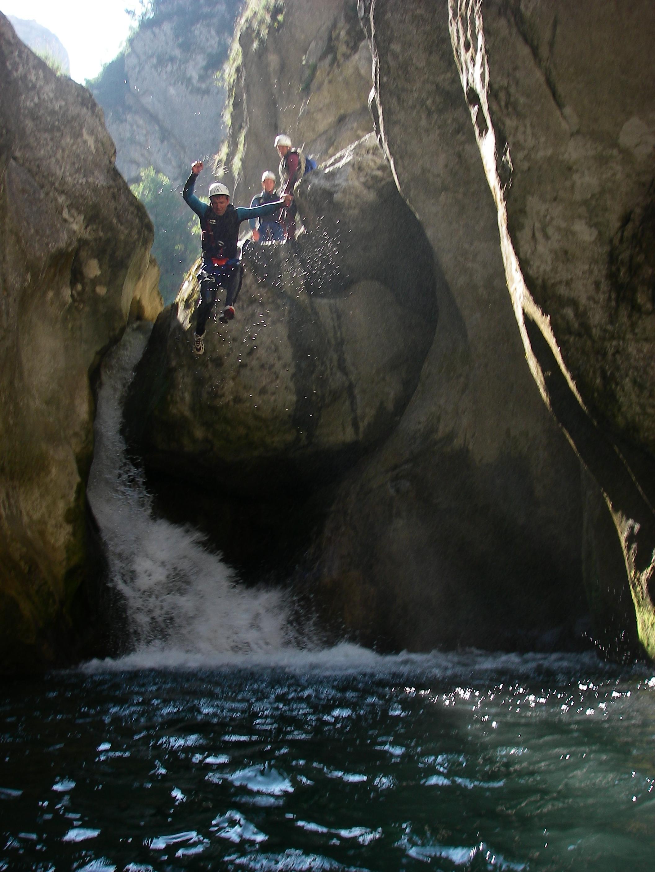 Photo Canyoning - 1/2 journée - avec Vertigo Verdon
