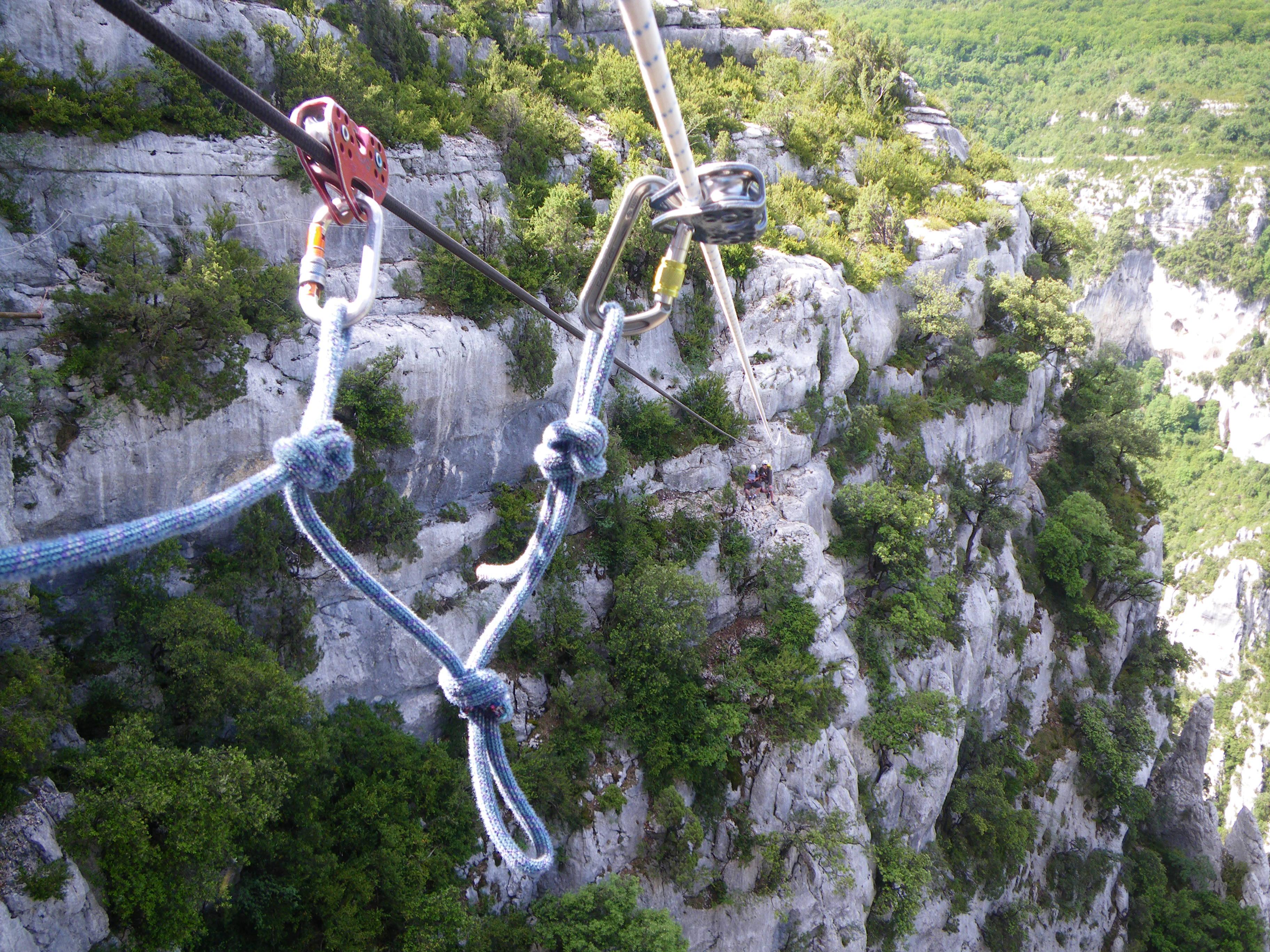 Photo Parcours aventure avec Vertigo Verdon