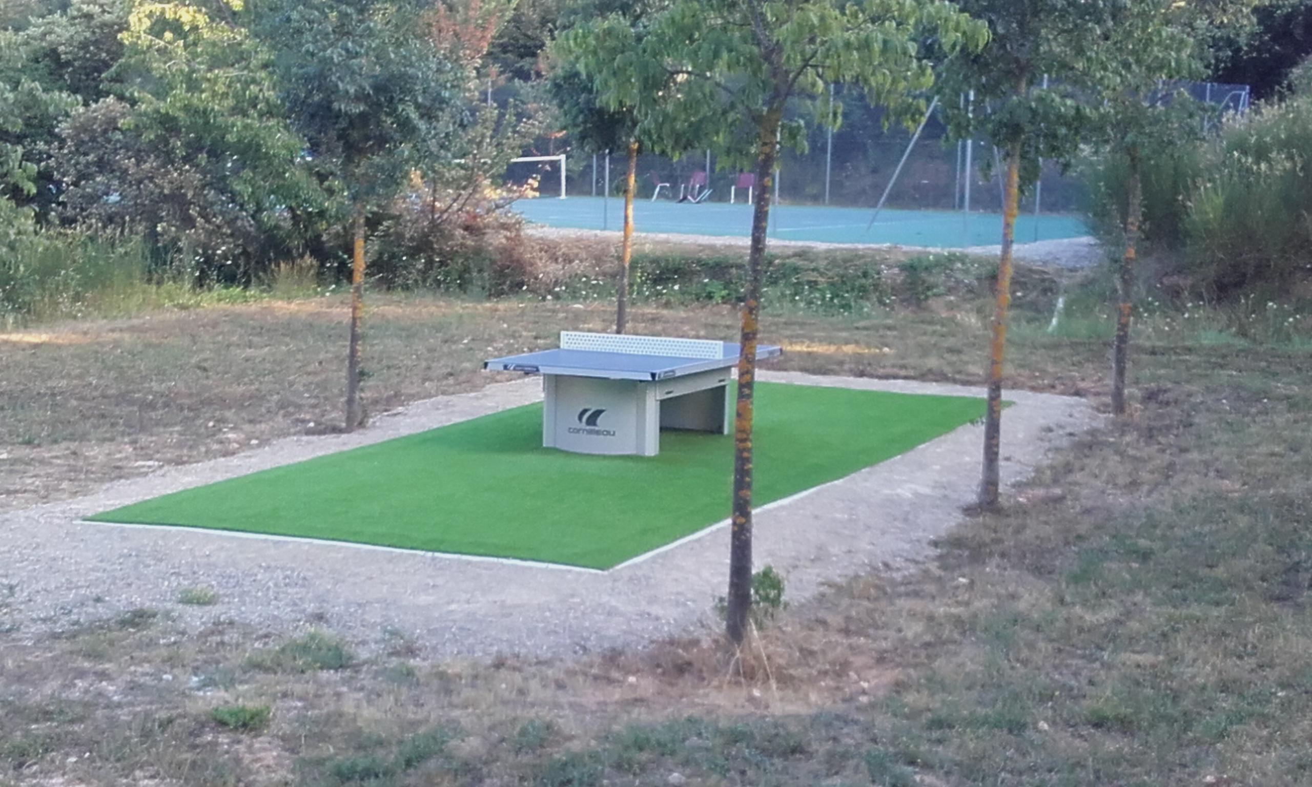 Photo Table de ping-pong