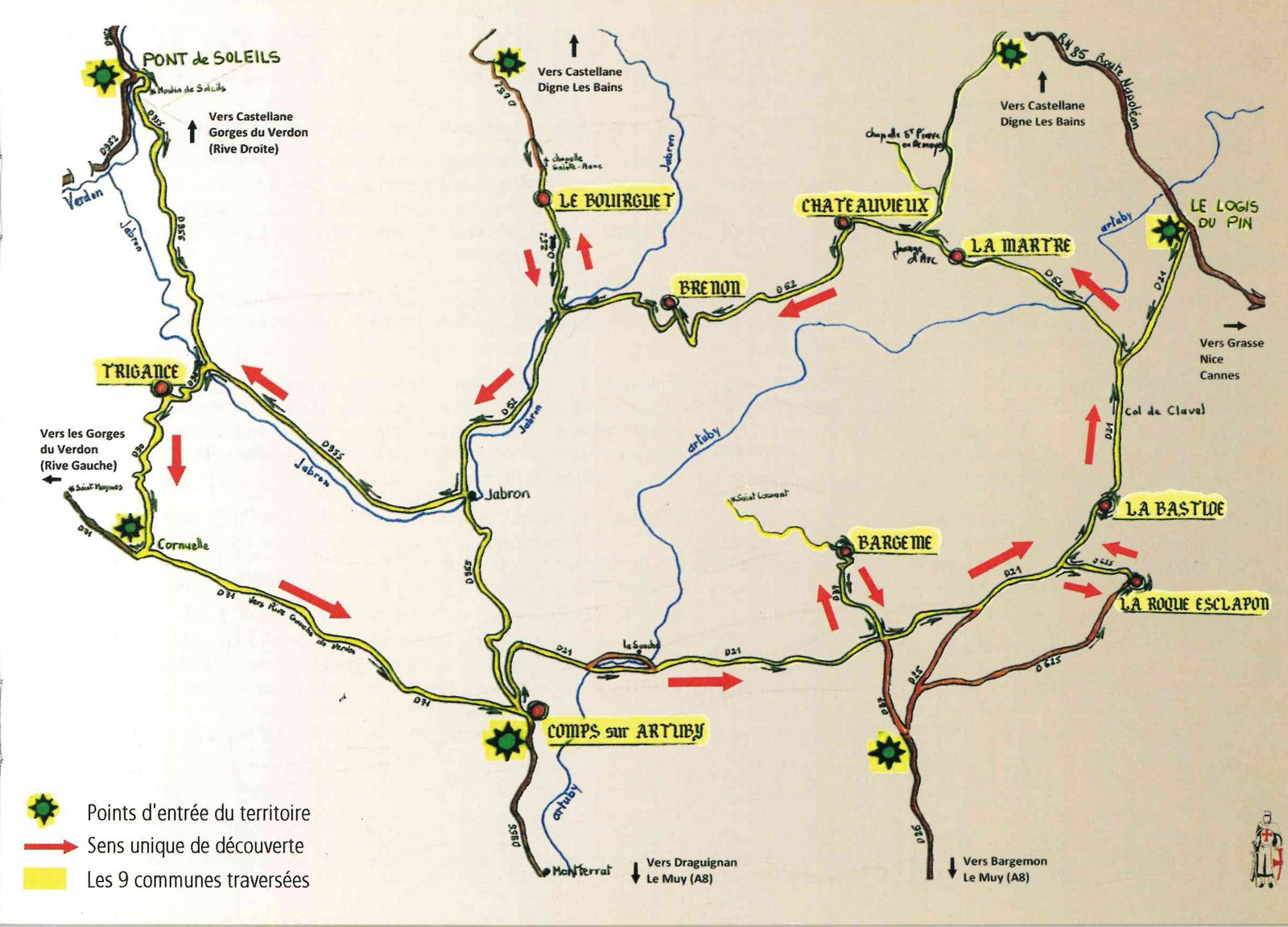 Photo La Route de l'Histoire et des Légendes