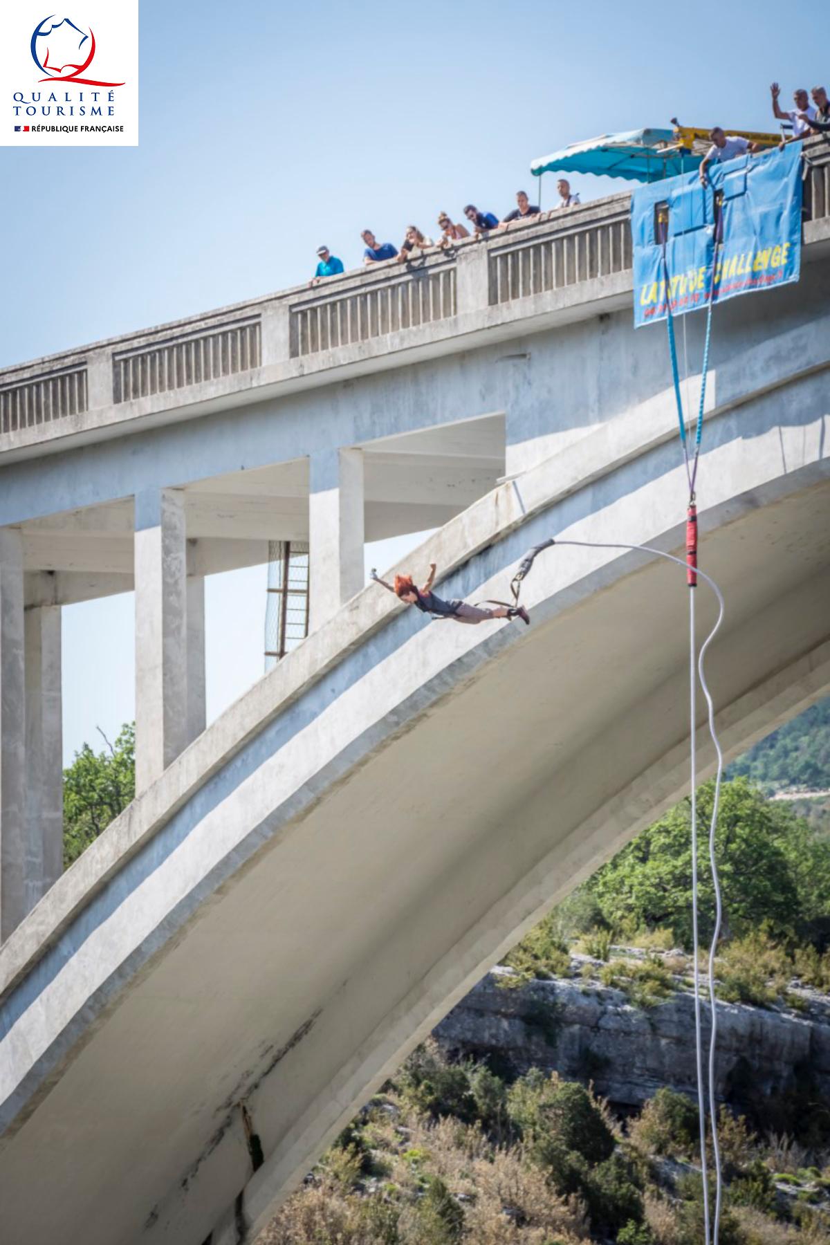 Photo Saut à l'élastique du Pont de l'Artuby