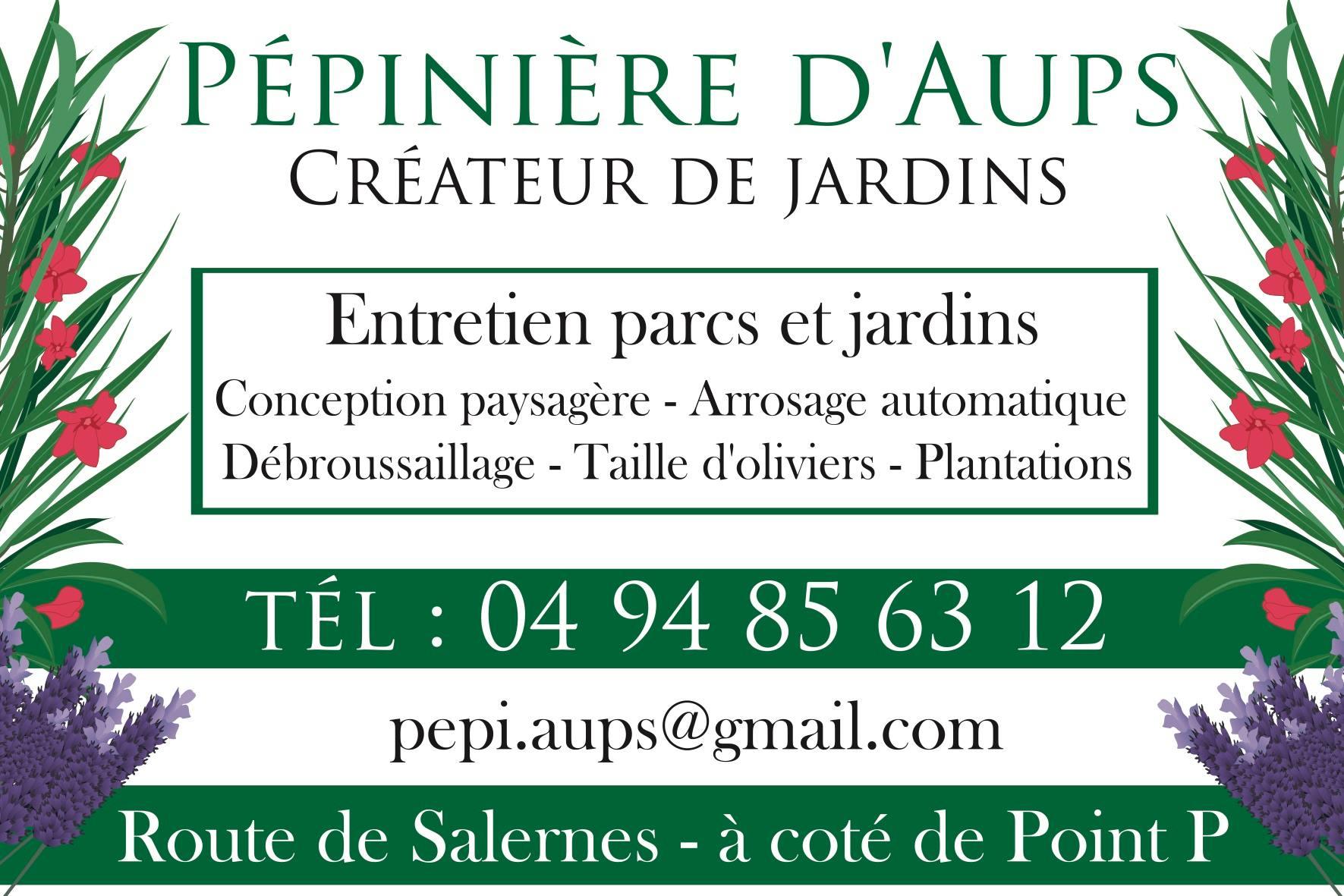 Photo Pépinière d'Aups