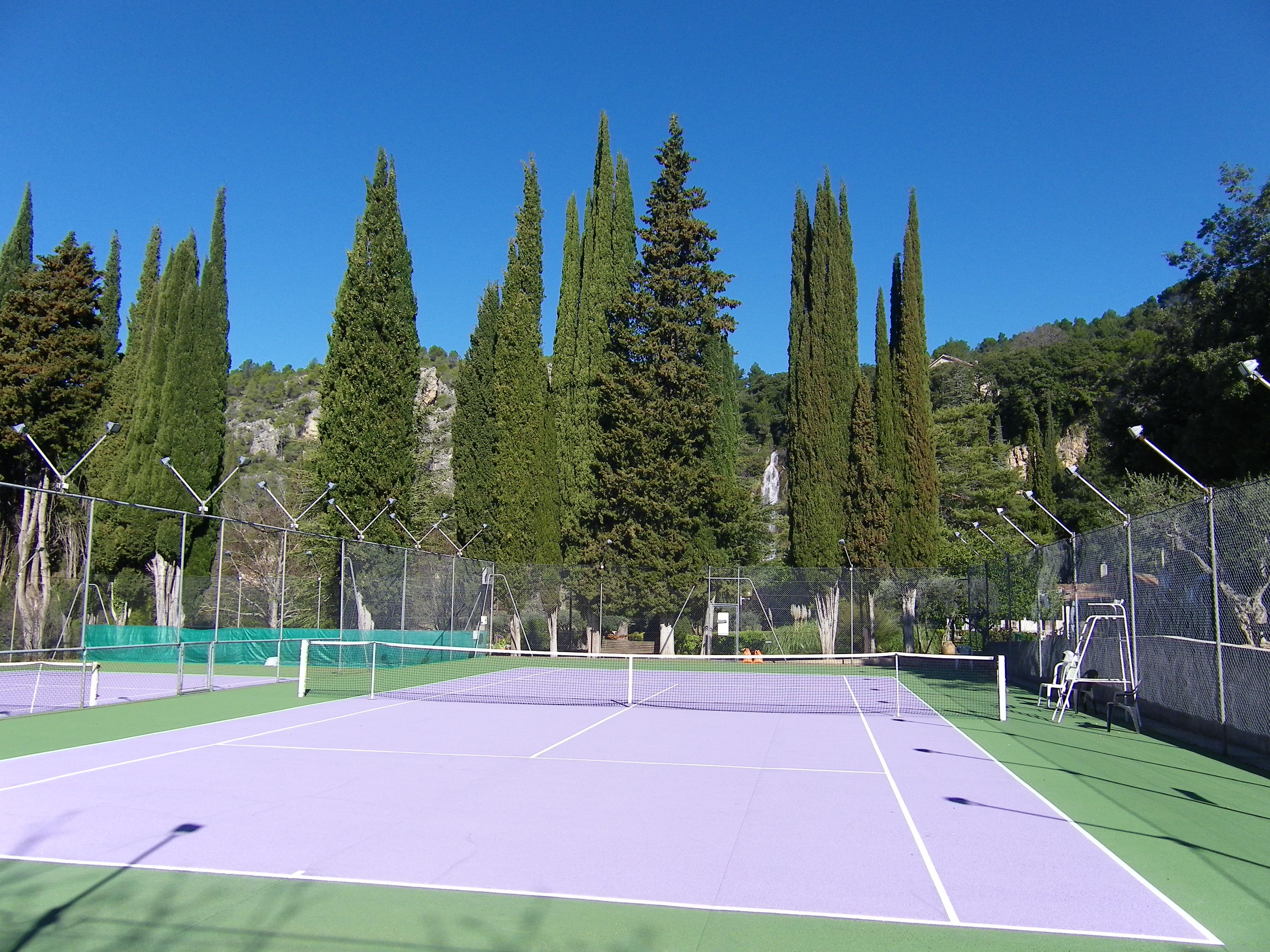 Photo Courts de tennis