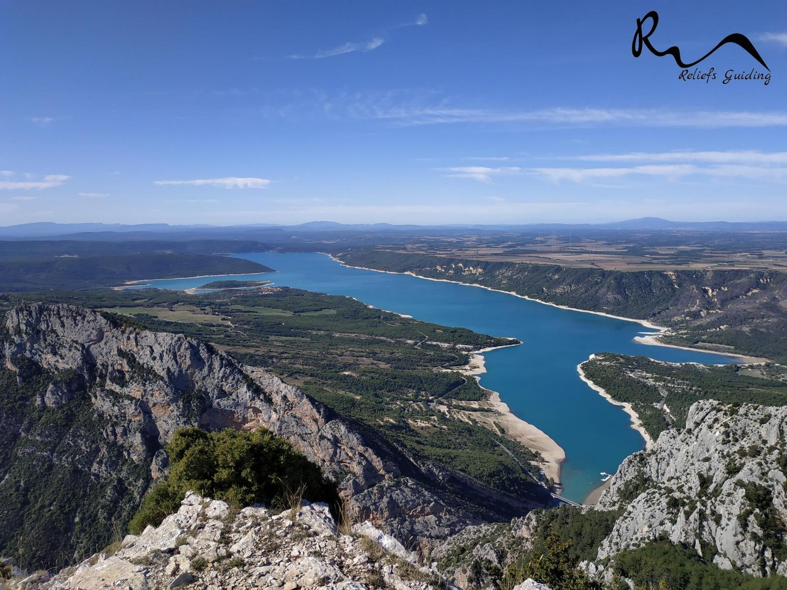 Photo Les bords du lac de Sainte-Croix