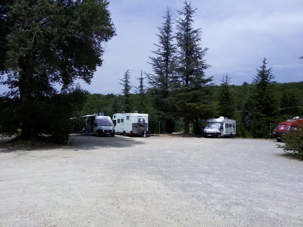 Photo Aire de service pour camping-cars Orapi Market