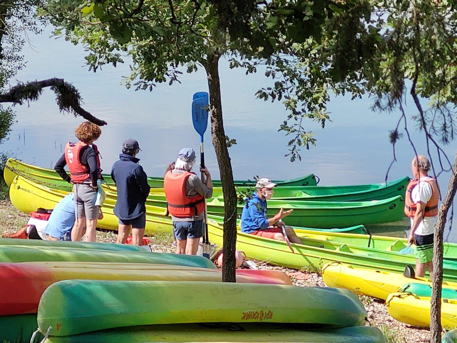Photo Balade en canoë kayak dans les Gorges de Baudinard