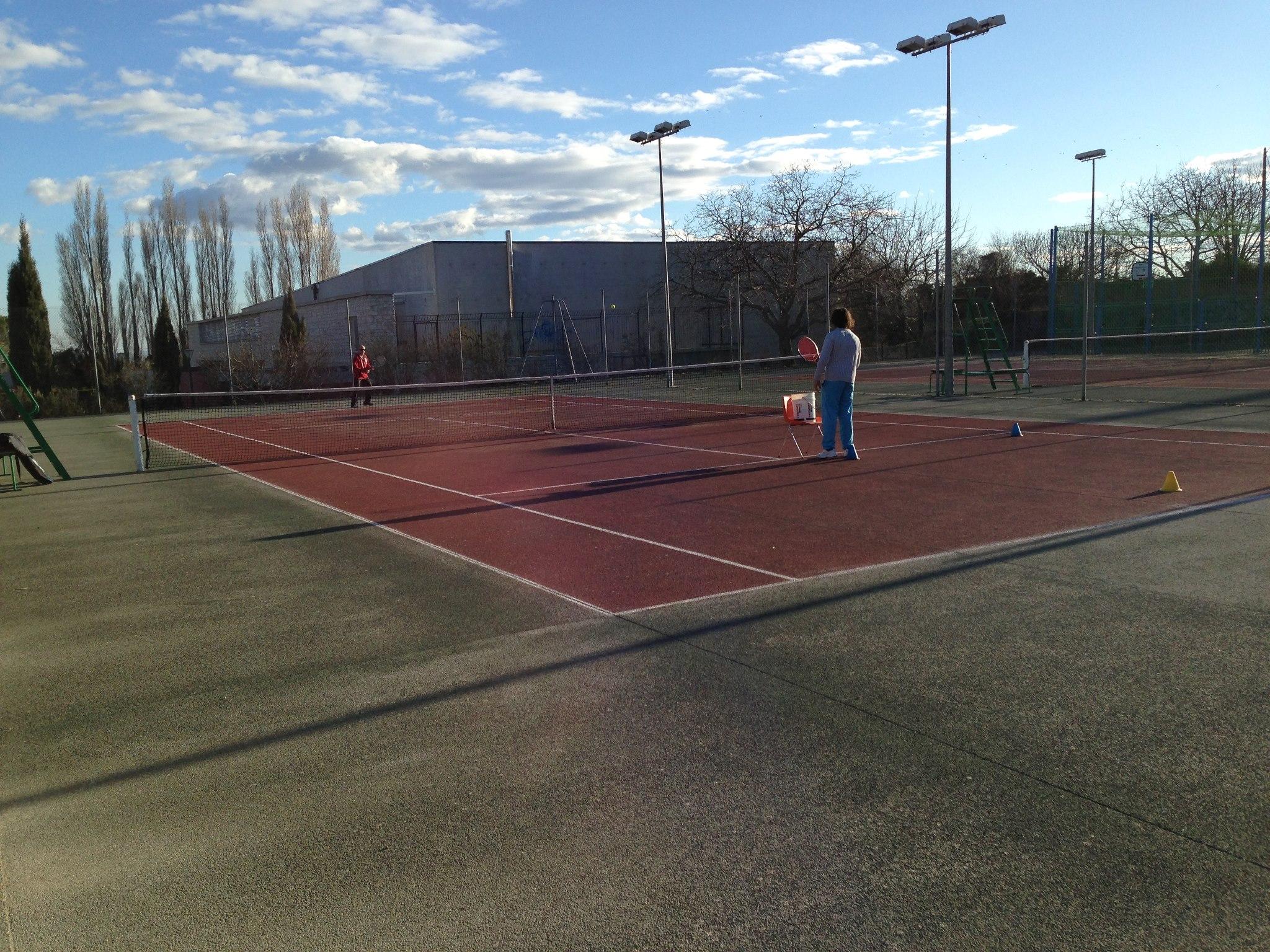 Photo Cours de tennis